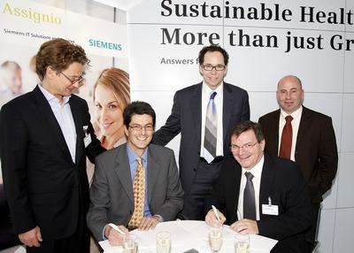 SINOVO unterzeichnet Vertrag mit Siemens